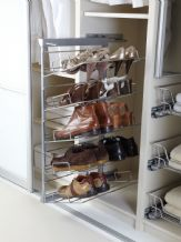 5-TIER PULL-OUT SOFT CLOSE SHOE RACK - Left or Right Hand options (ECF WW PSR5)
